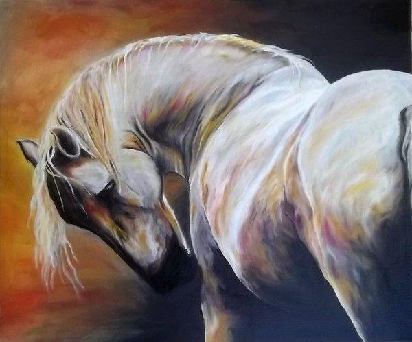 Dessins et tableaux de chevaux page 2 - Tableau de cheval ...